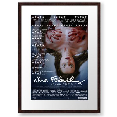Nina Forever Festivals Poster framed and printed by Redbubble